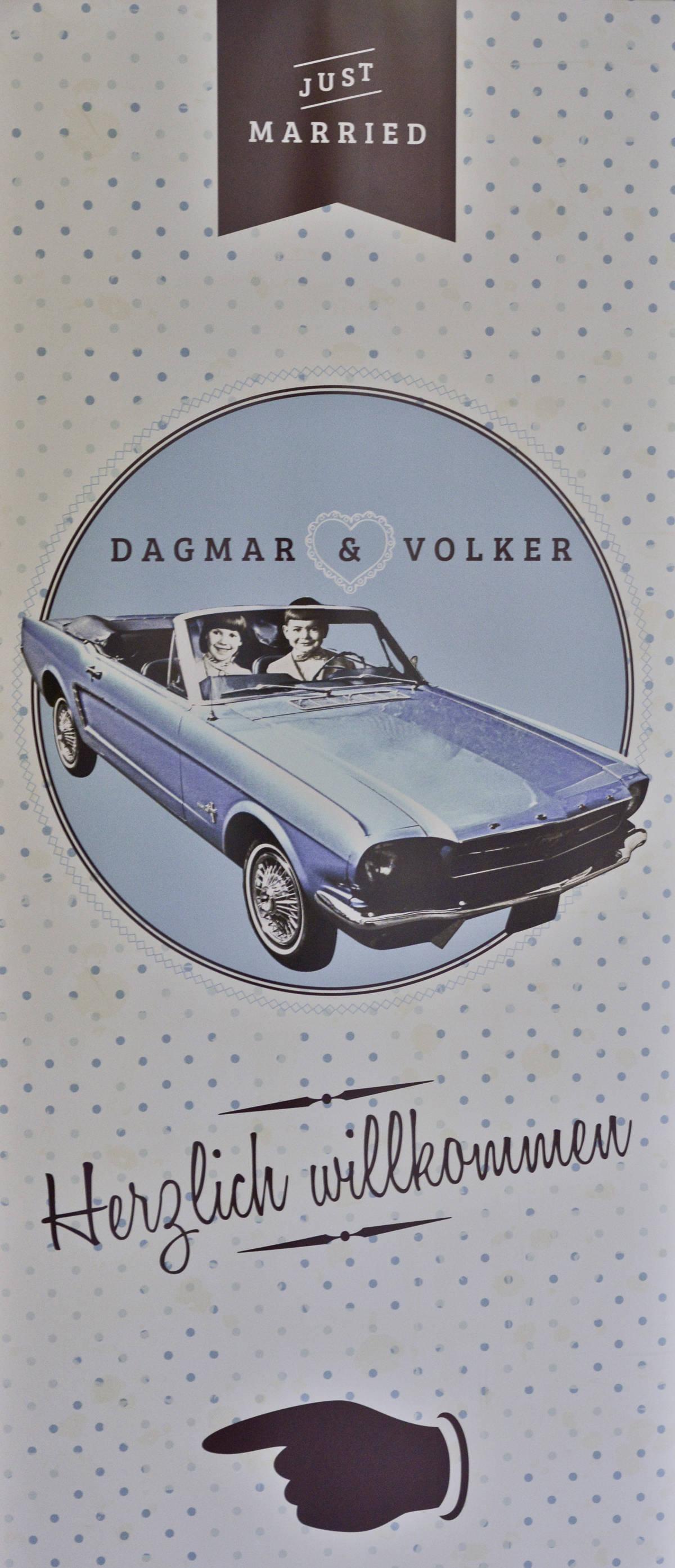 Hochzeitsfoto von Dagmar & Volker - Hochzeitsfotografie wesayyes aus Berlin